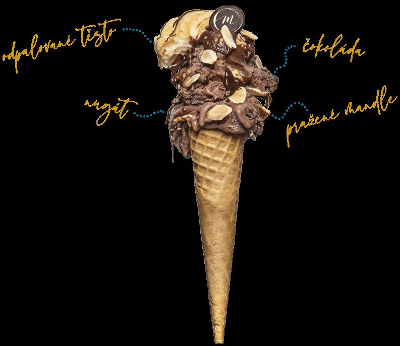 Zmrzlina Moccacafé Tábor