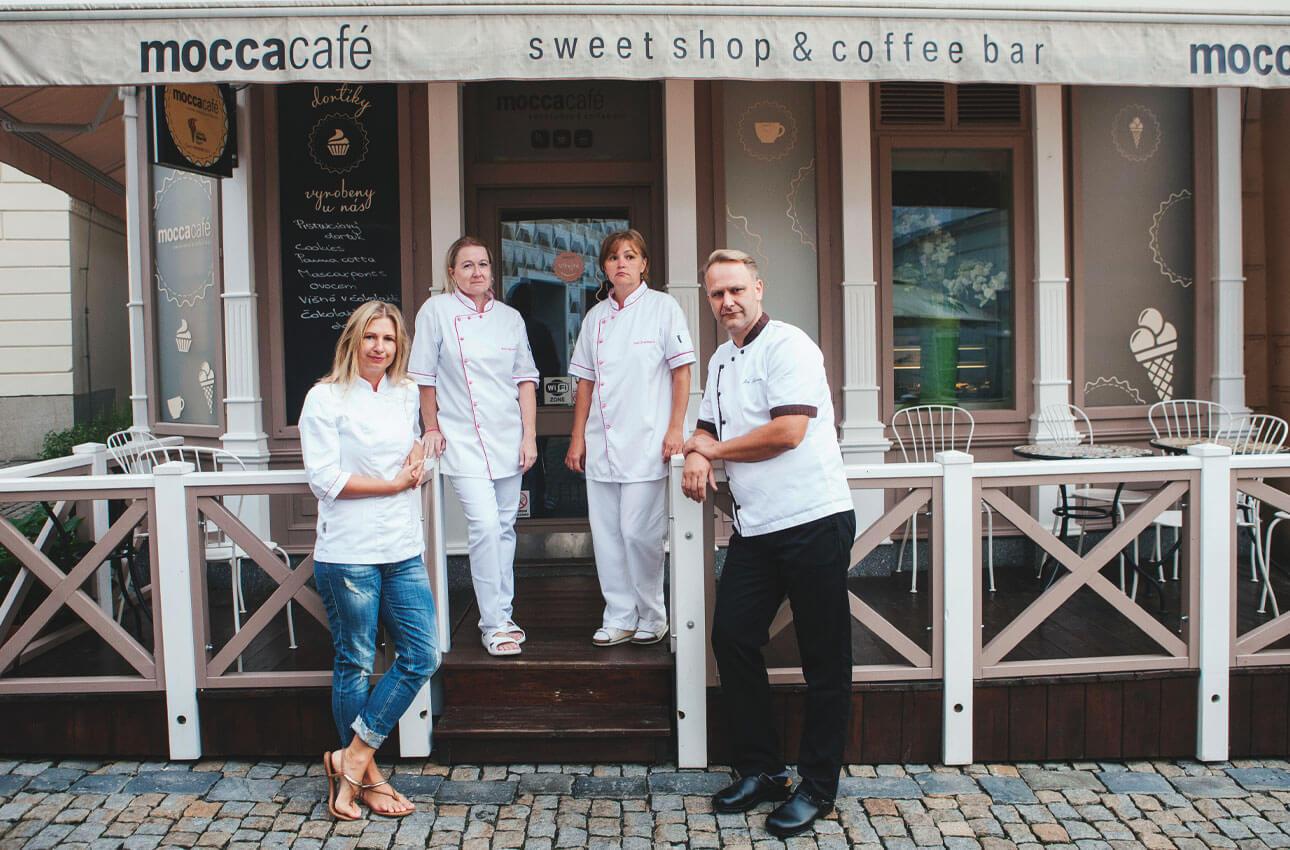 Rodinná cukrárna Moccacafé Tábor
